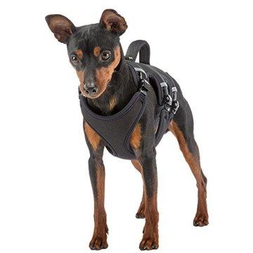 Ergotrekking Nylon-Hundegeschirr mit reflektierenden Absetzungen