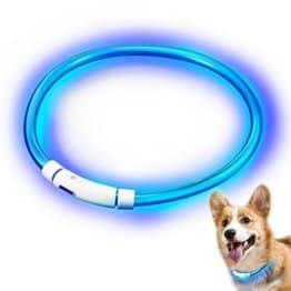 Hunde Leuchthalsband LED in 3 Leuchtmodis