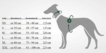 Hunter Hundegeschirr Neopren, L, Braun/Caramel