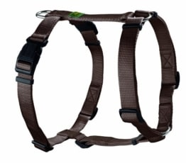 Hunter Hundegeschirr Vario Rapid, S, braun, Nylon