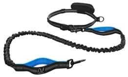 Joggingleine, elastisch und reflektierend mit Ruckdämpfung und Bauchgurt