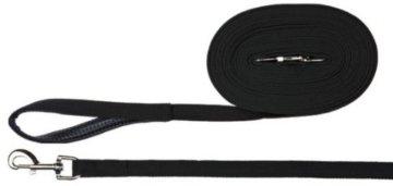 Trixie Schleppleine, Gurtband 5 m/20 mm, schwarz